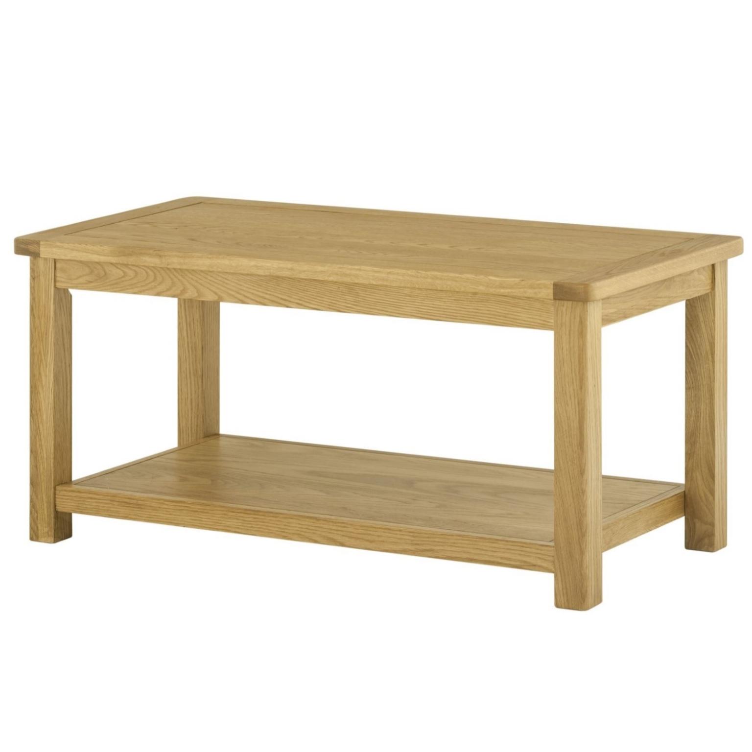 Cotswold Coffee Table - Oak