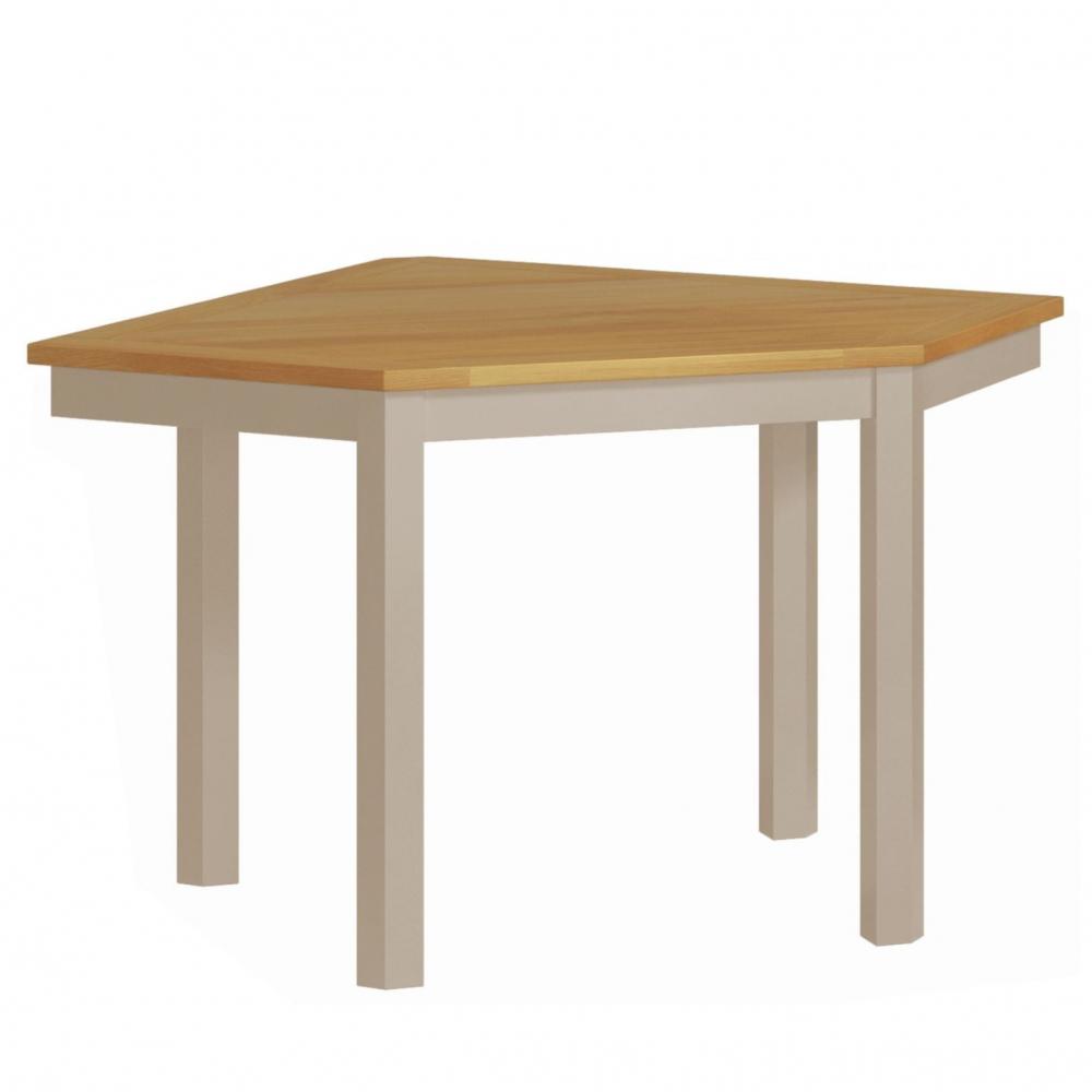 Cotswold Corner Desk - Stone