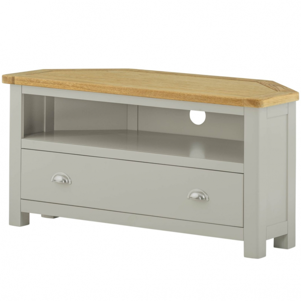Cotswold Corner TV Unit - Stone