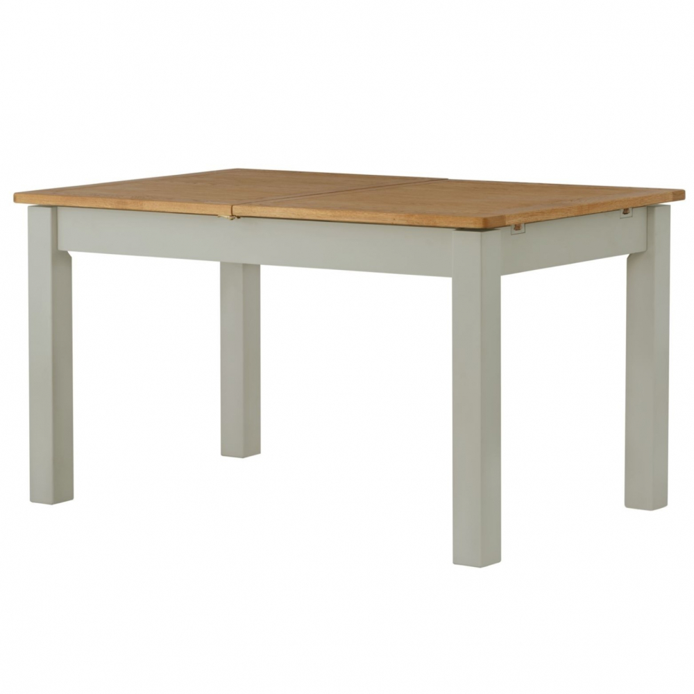 Cotswold Dining Table with Leaf - Stone