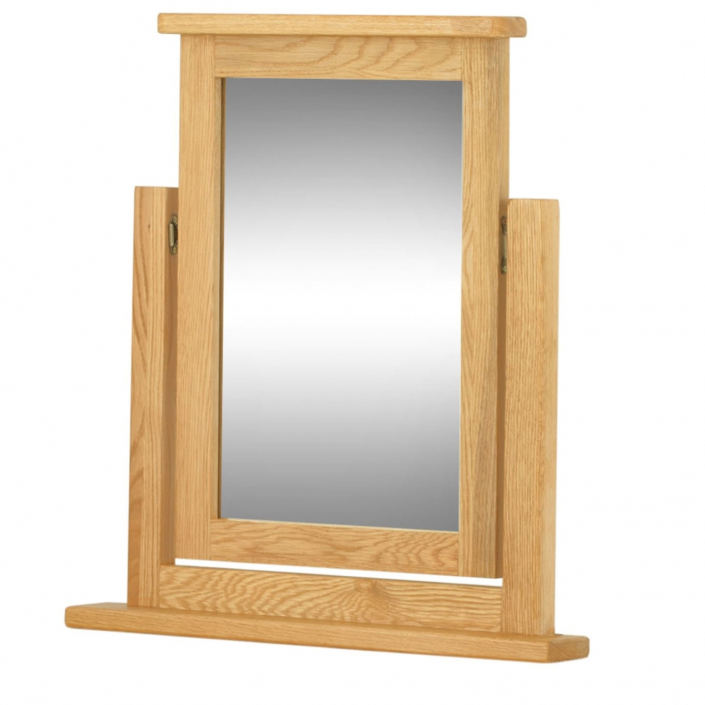 Cotswold Dressing Table Swivel Mirror - Oak