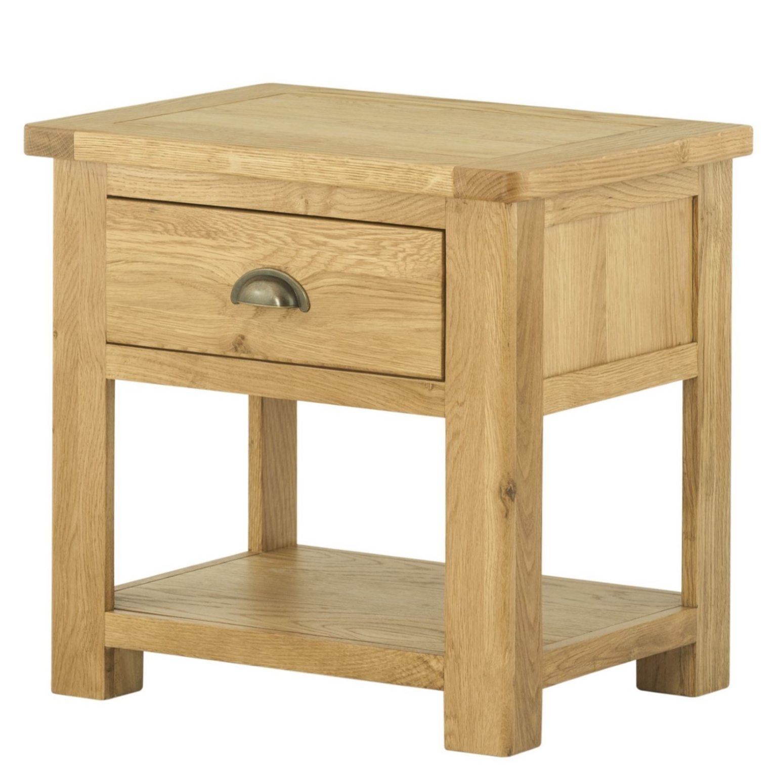 Cotswold Lamp Table with drawer - Oak