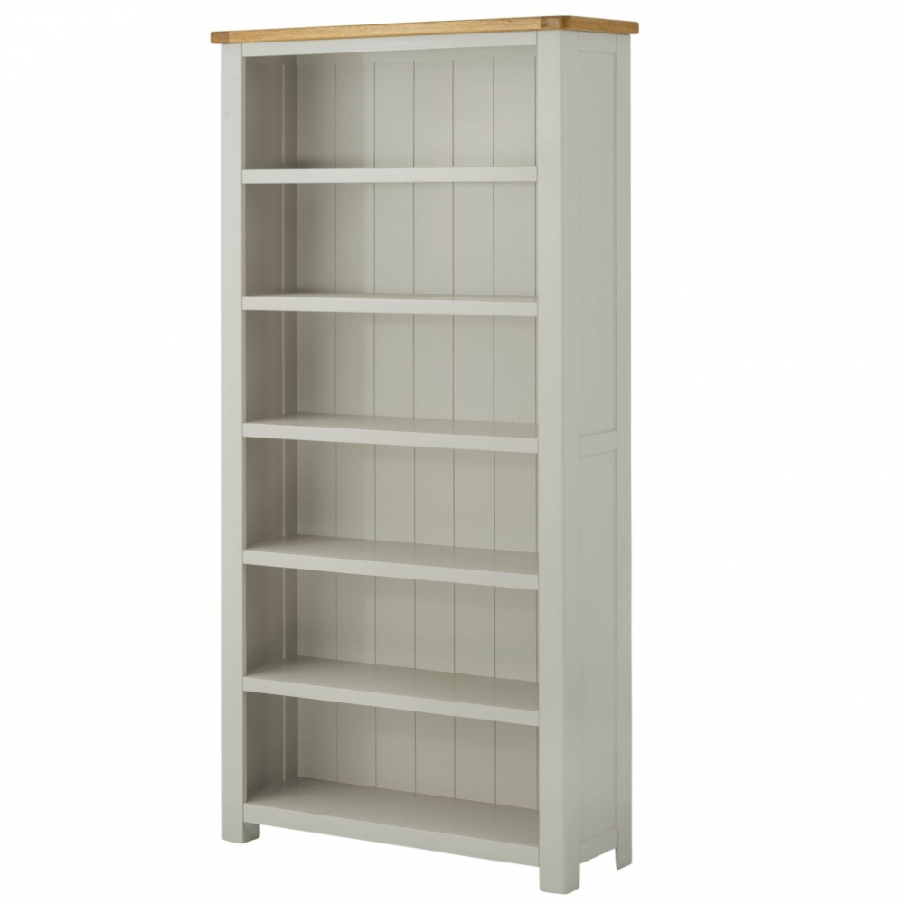 Cotswold Large Bookcase - Stone