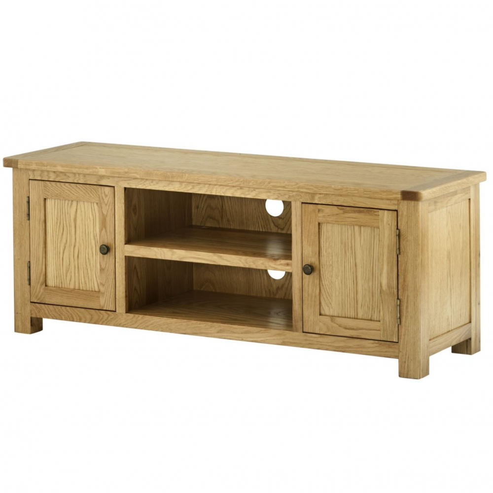Cotswold Large TV Cabinet - Oak