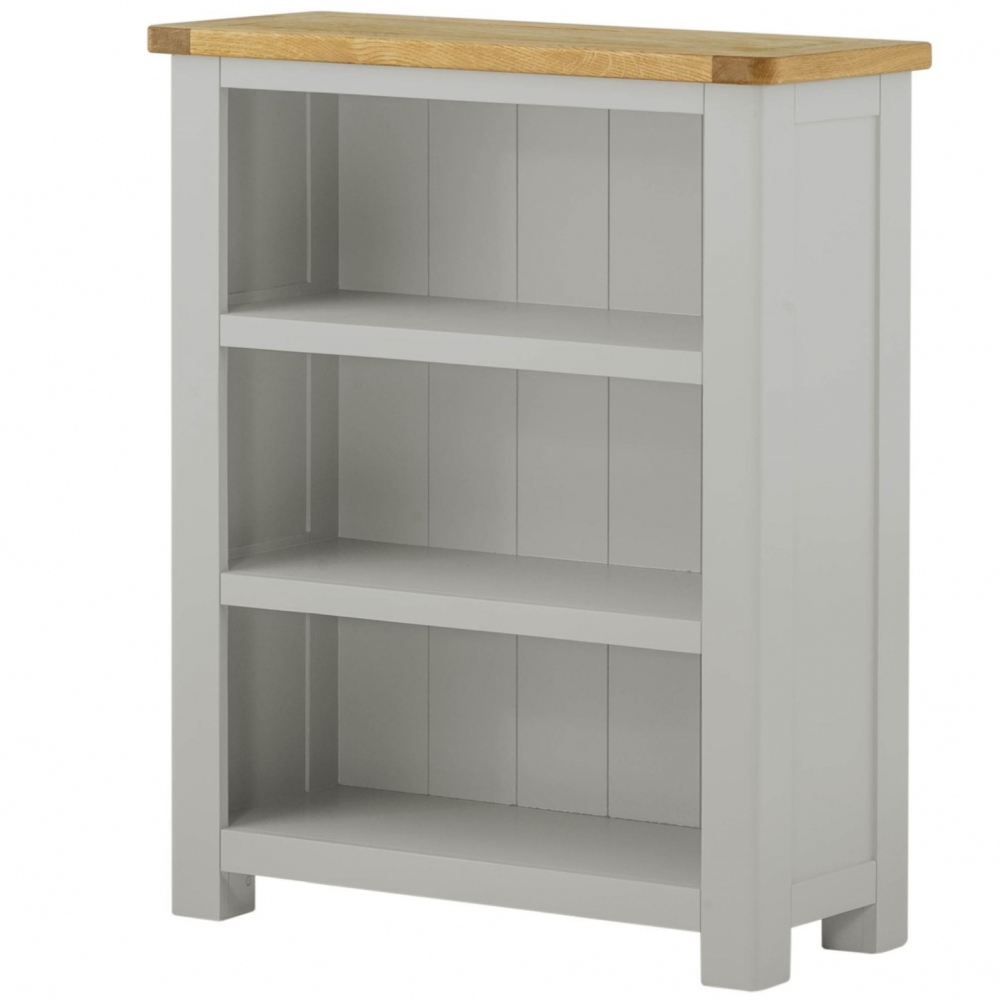 Cotswold Small Bookcase - Stone