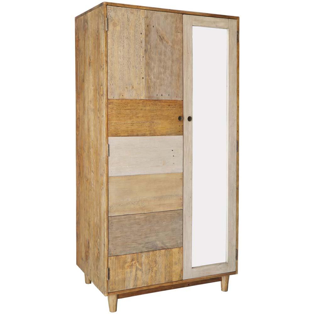 Relcaimed pine rustic wardrobe