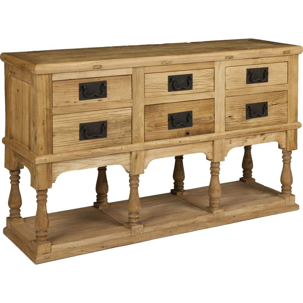 Decorative 6 drawer cabinet