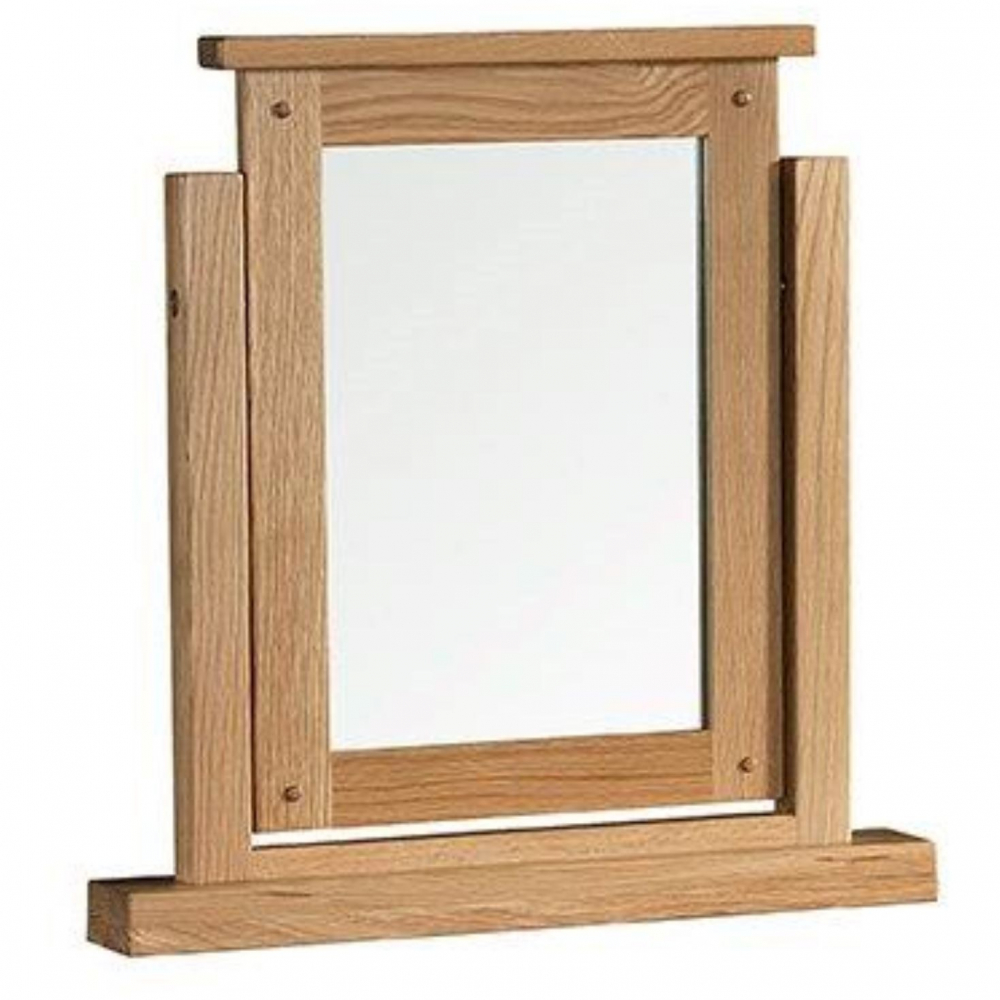 Colorado Oak Dressing Table Mirror