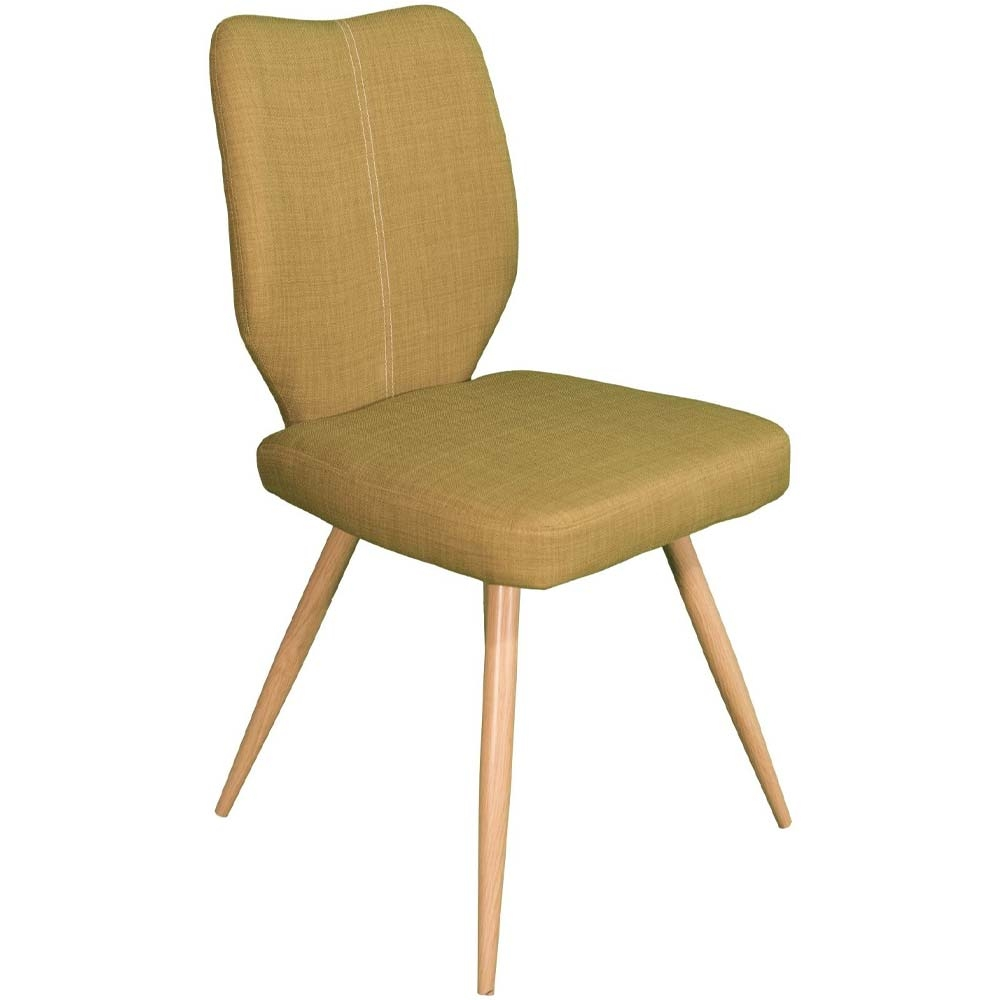Green Enka dining chair