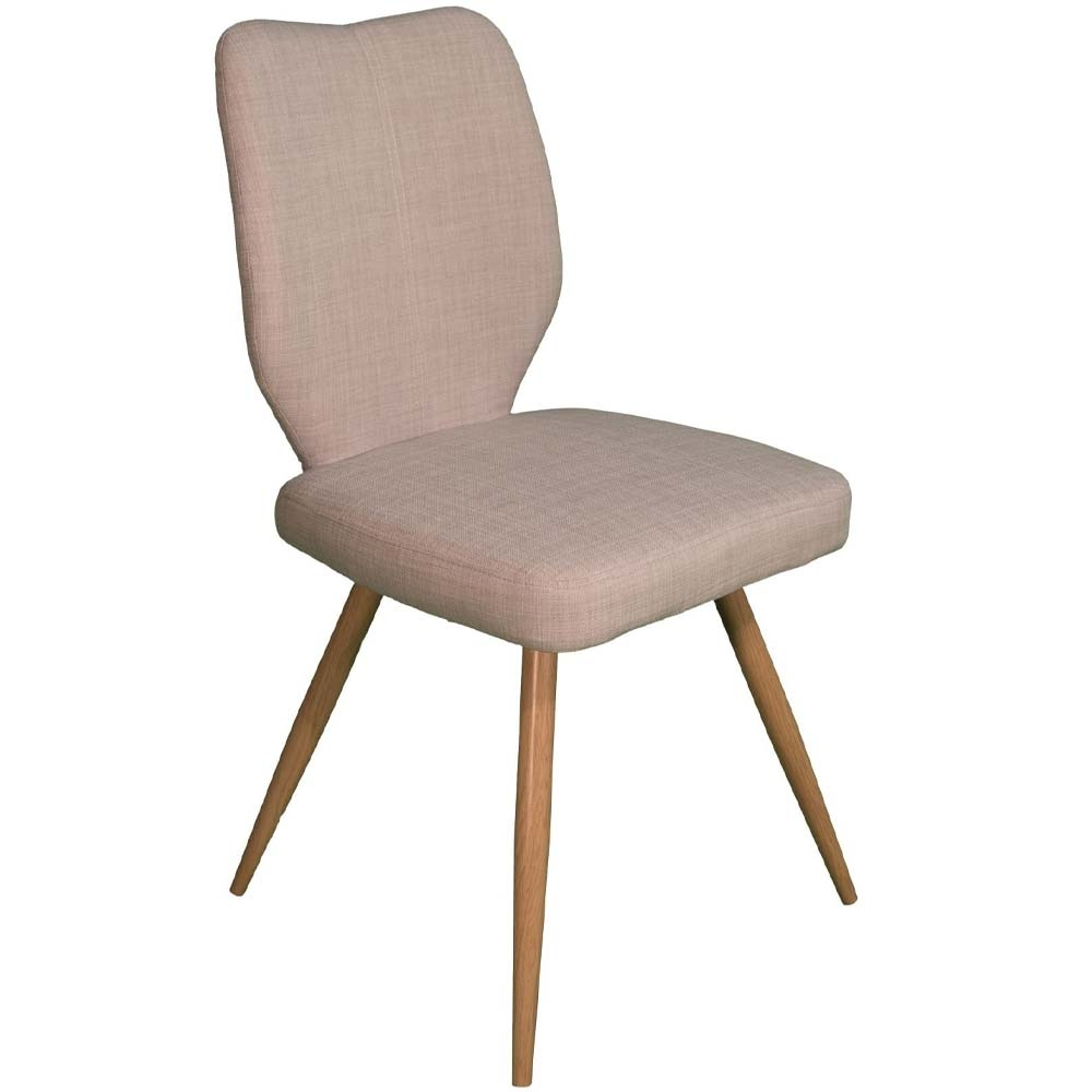 Ivory dining chair from Enka