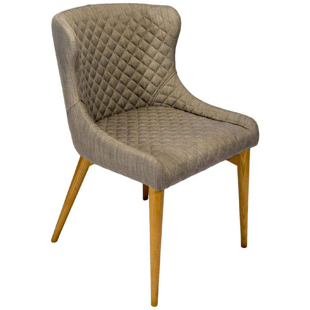 Chelsea Dining Chair with Flint Fabric