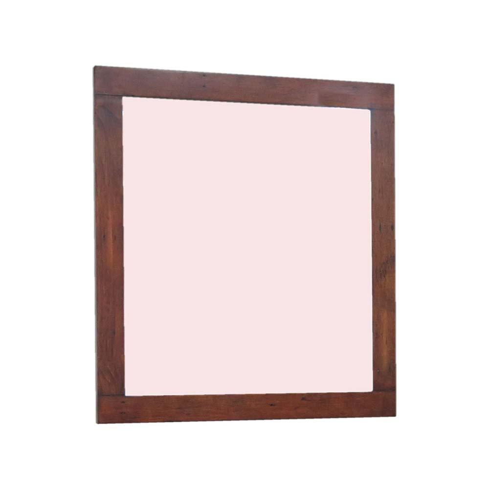 Reclaimed pine mirror