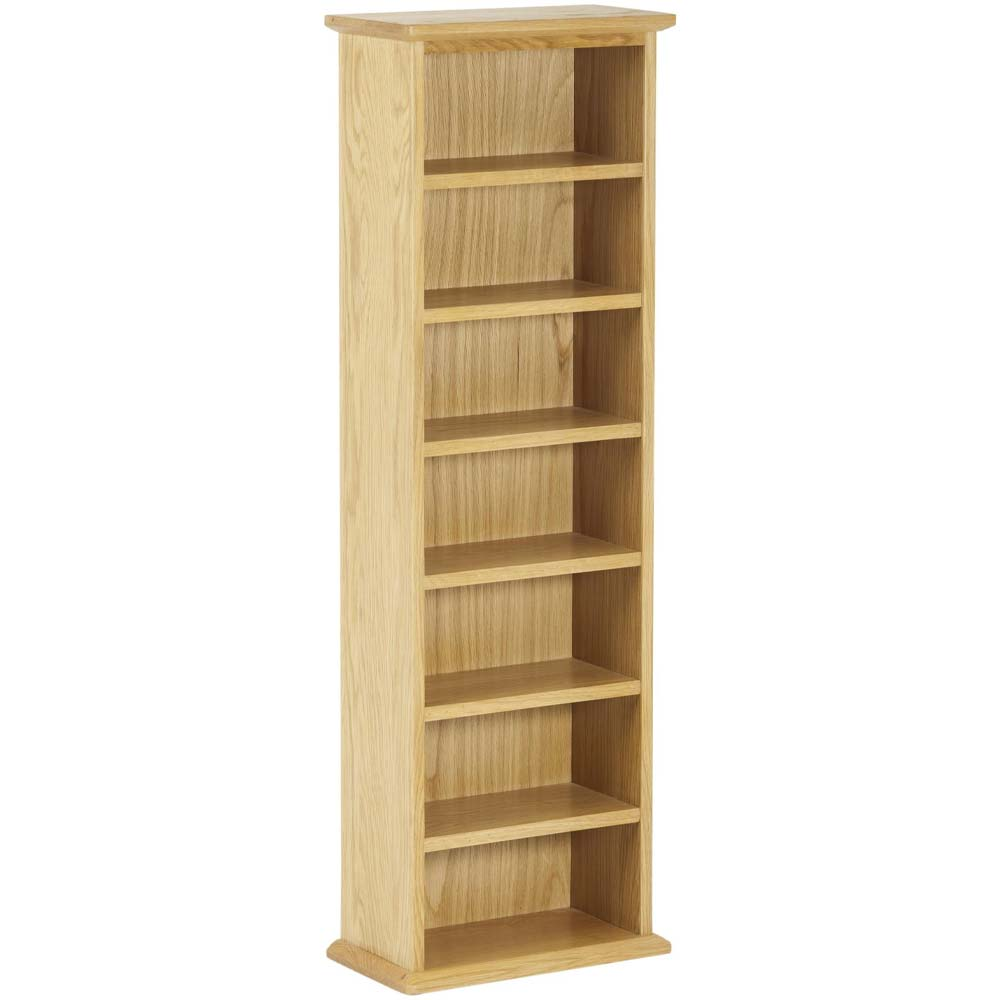 Solid oak narrow shelves