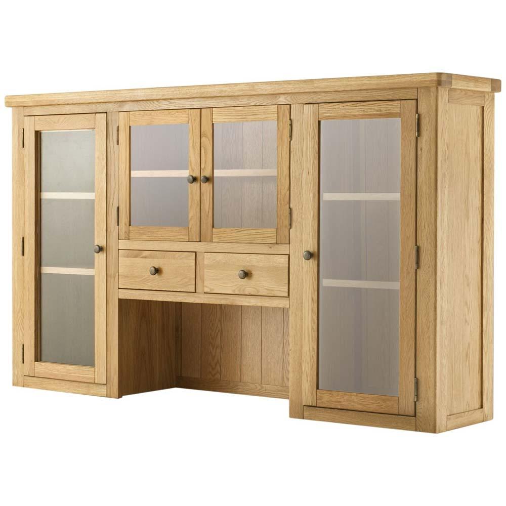 Cotswold Grand 4 Door Dresser Top - Oak