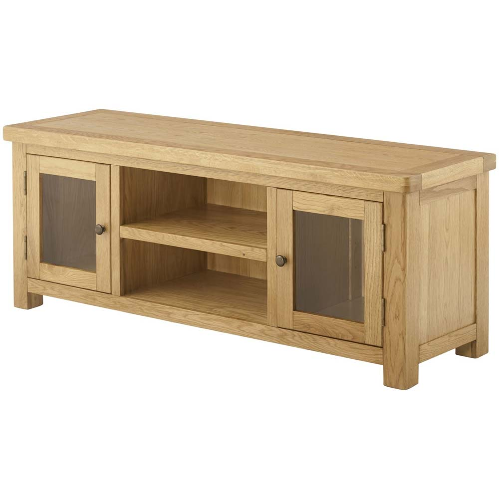 Solid oak lowline unit