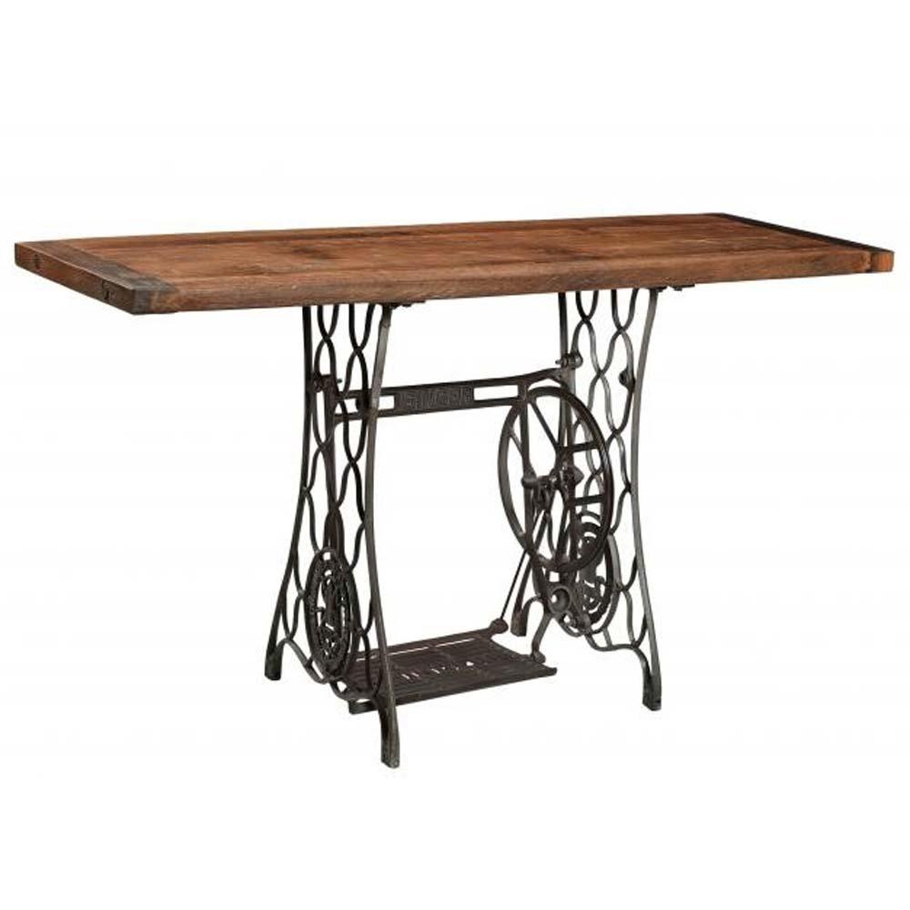 Unique hallway table