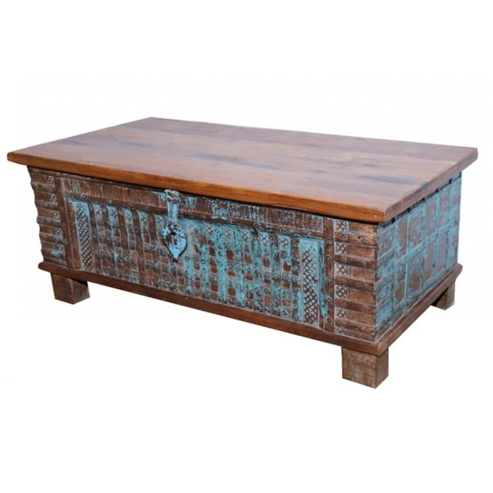 Antique Wooden Pitari Chest