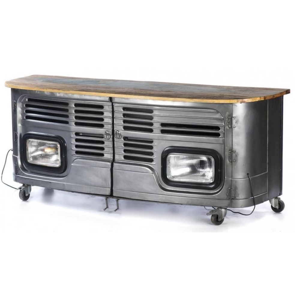 Front of lorry TV unit