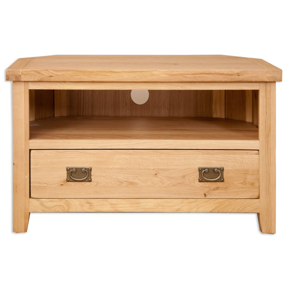 Melbourne natural Corner TV unit s