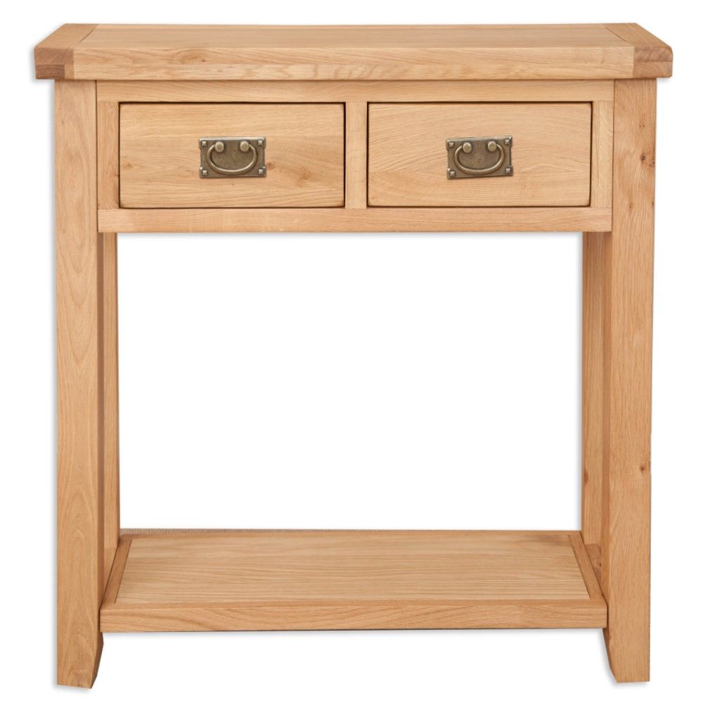 Melbourne Natural 2 Drawer Console Table