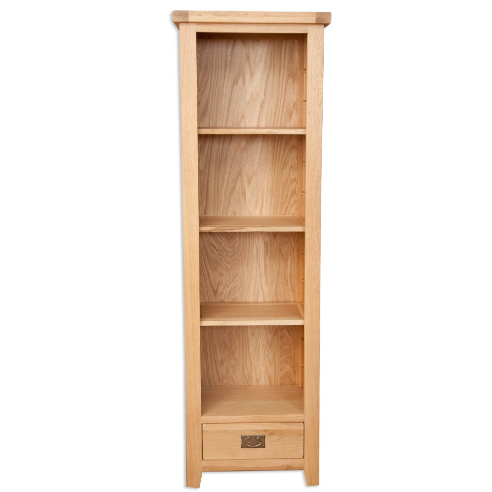 Melbourne Natural Slim Bookcase