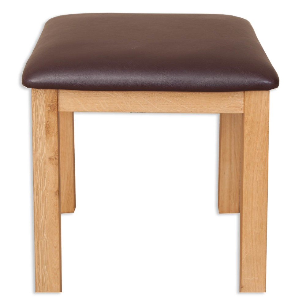 Melbourne Natural dressing table stool