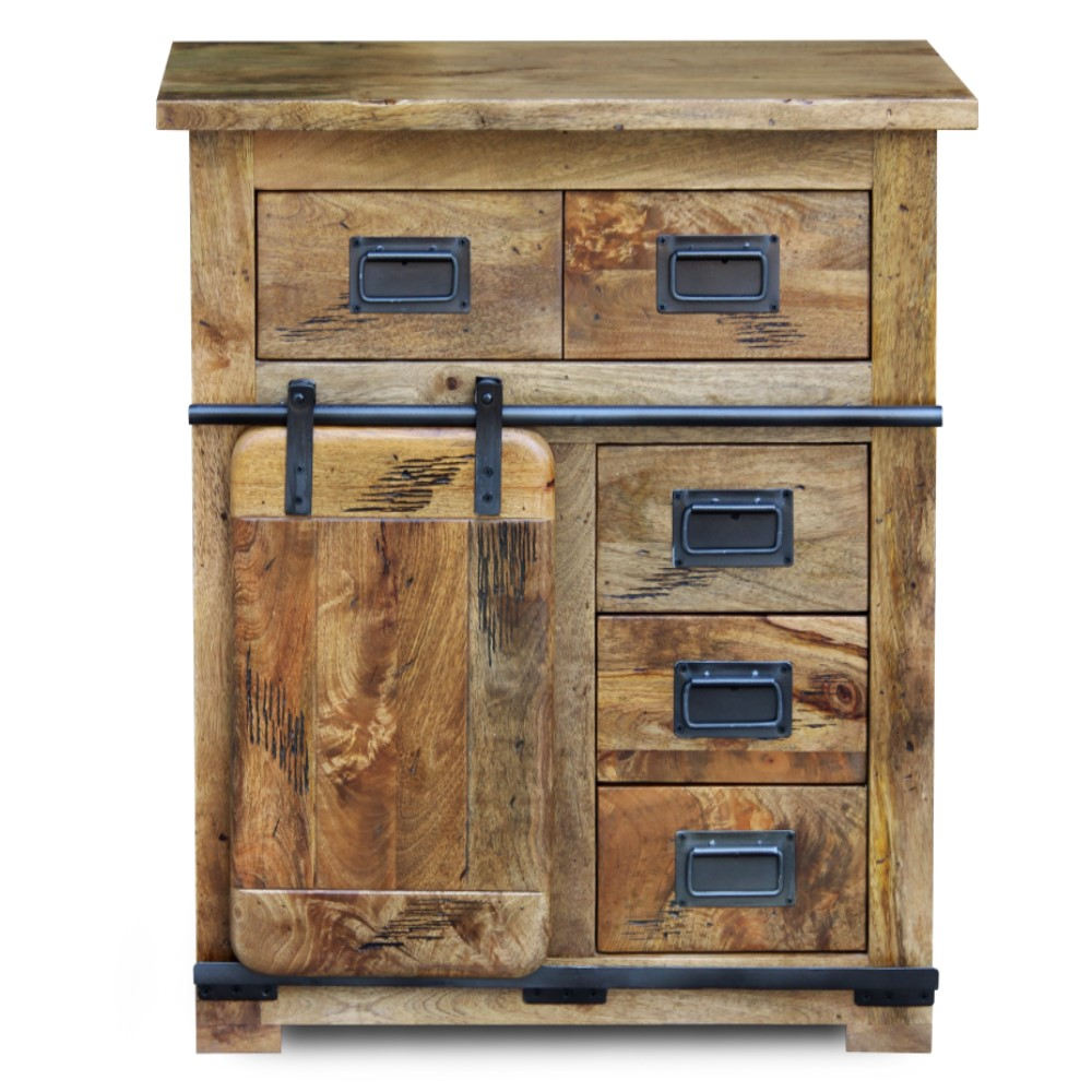 Mango wood Collection Hall Cabinet 7