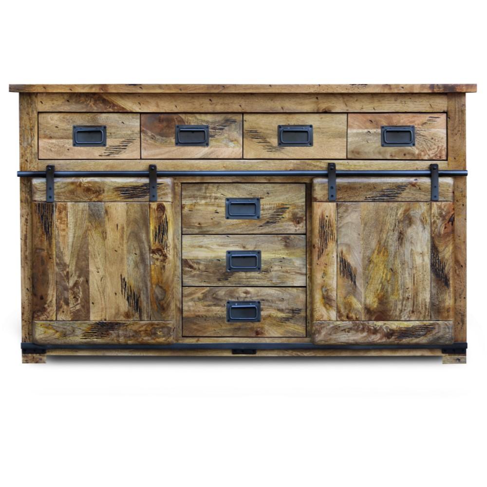 mango wood Collection Large Sideboard