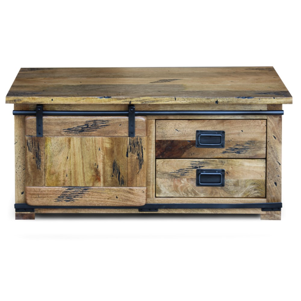 Raipur mango wood Collection Small TV Stand - Coffee Table 1