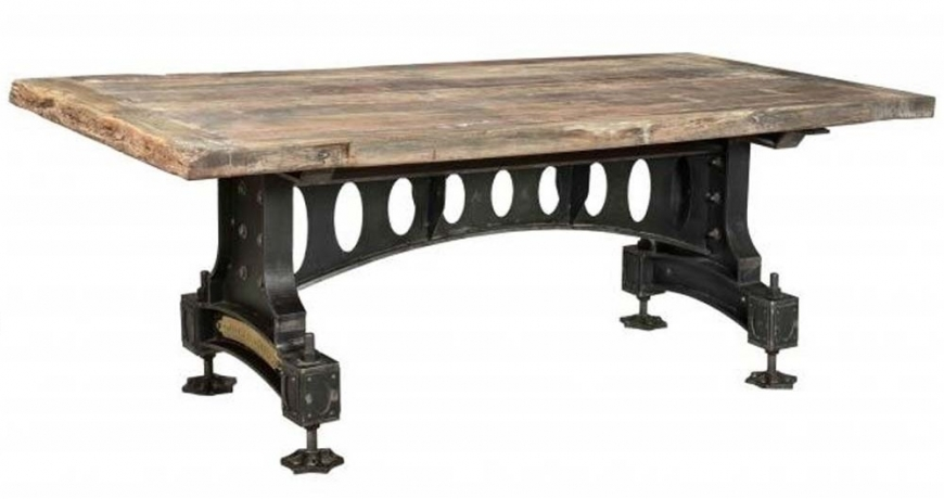 unique industrial table
