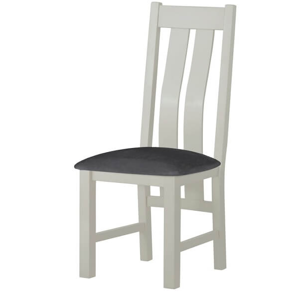 Cotswold white dining chair