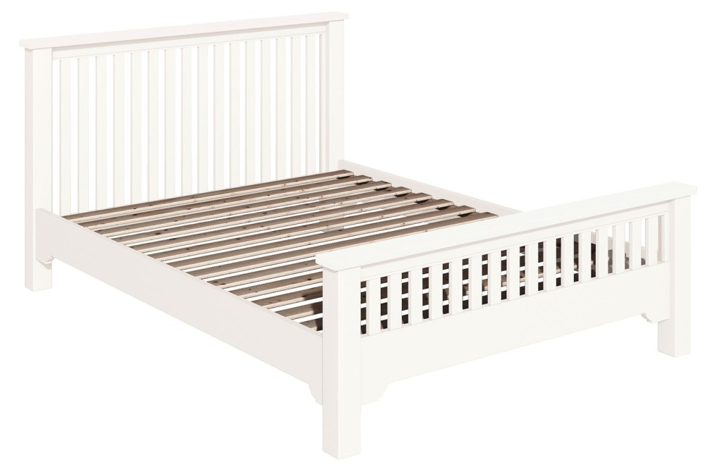 """Lily White 4ft 6"""" Chunky bed"""