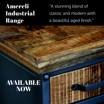 Amereli industrial furniture range