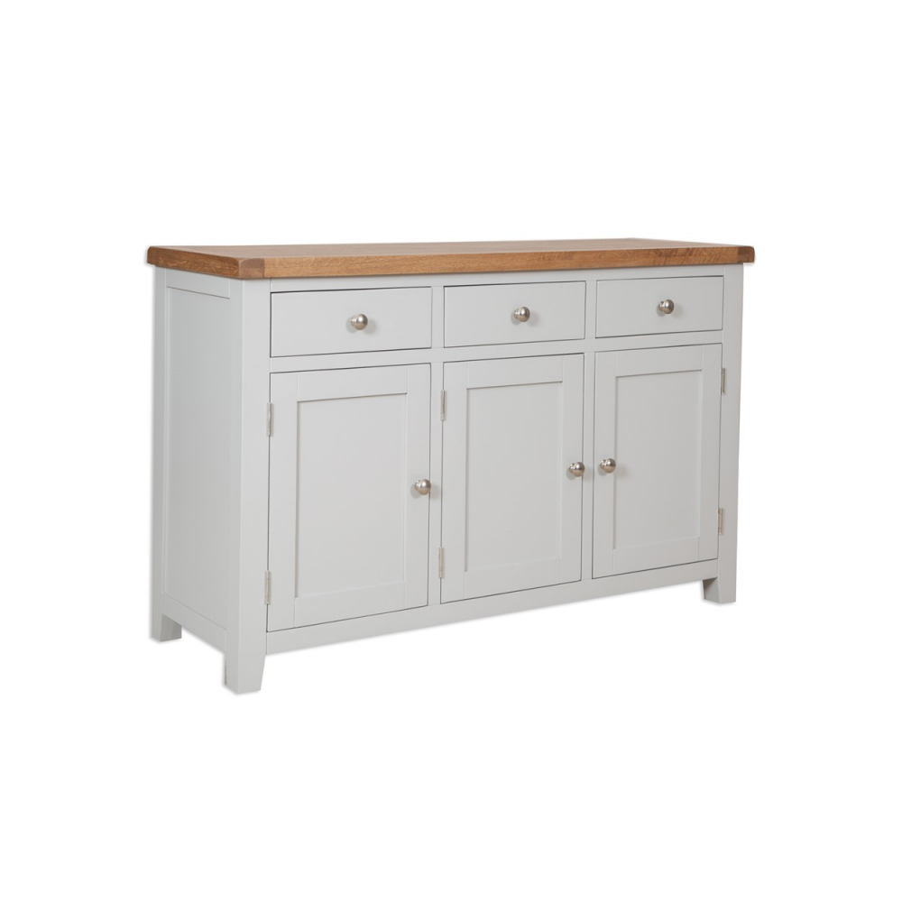 Melbourne French Grey Large Sideboard