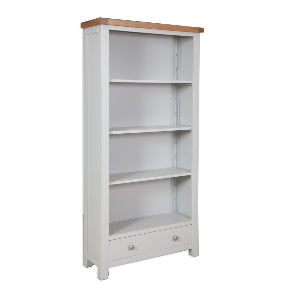 Melbourne French Grey Large bookcase