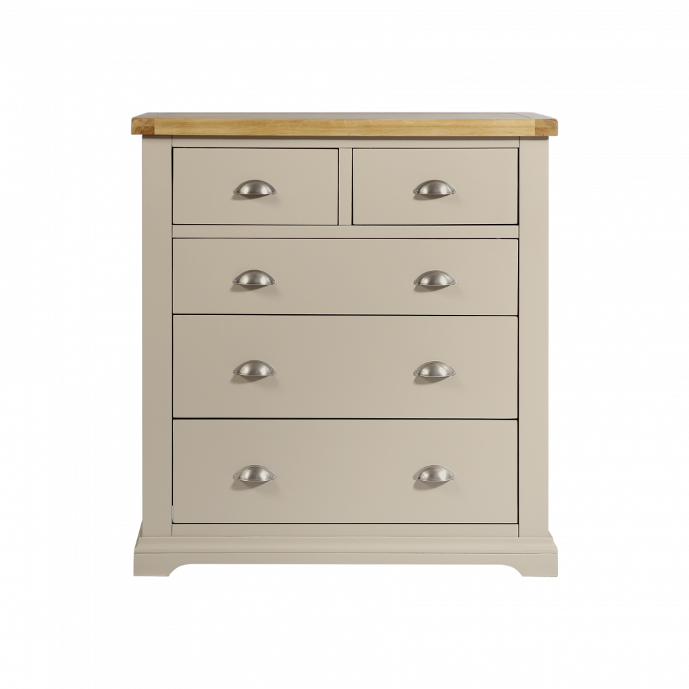 Melbourne Truffle 2 Over 3 Chest of Drawers