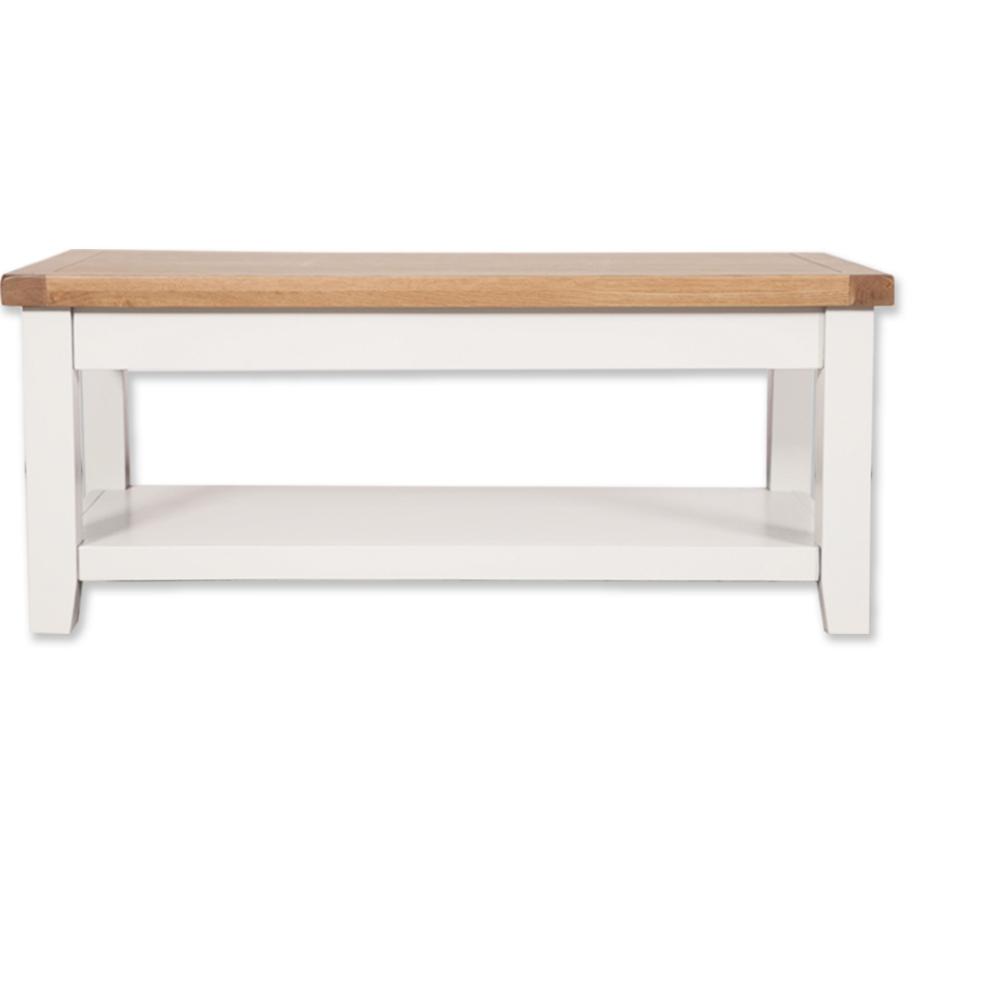 Melbourne White Coffee Table