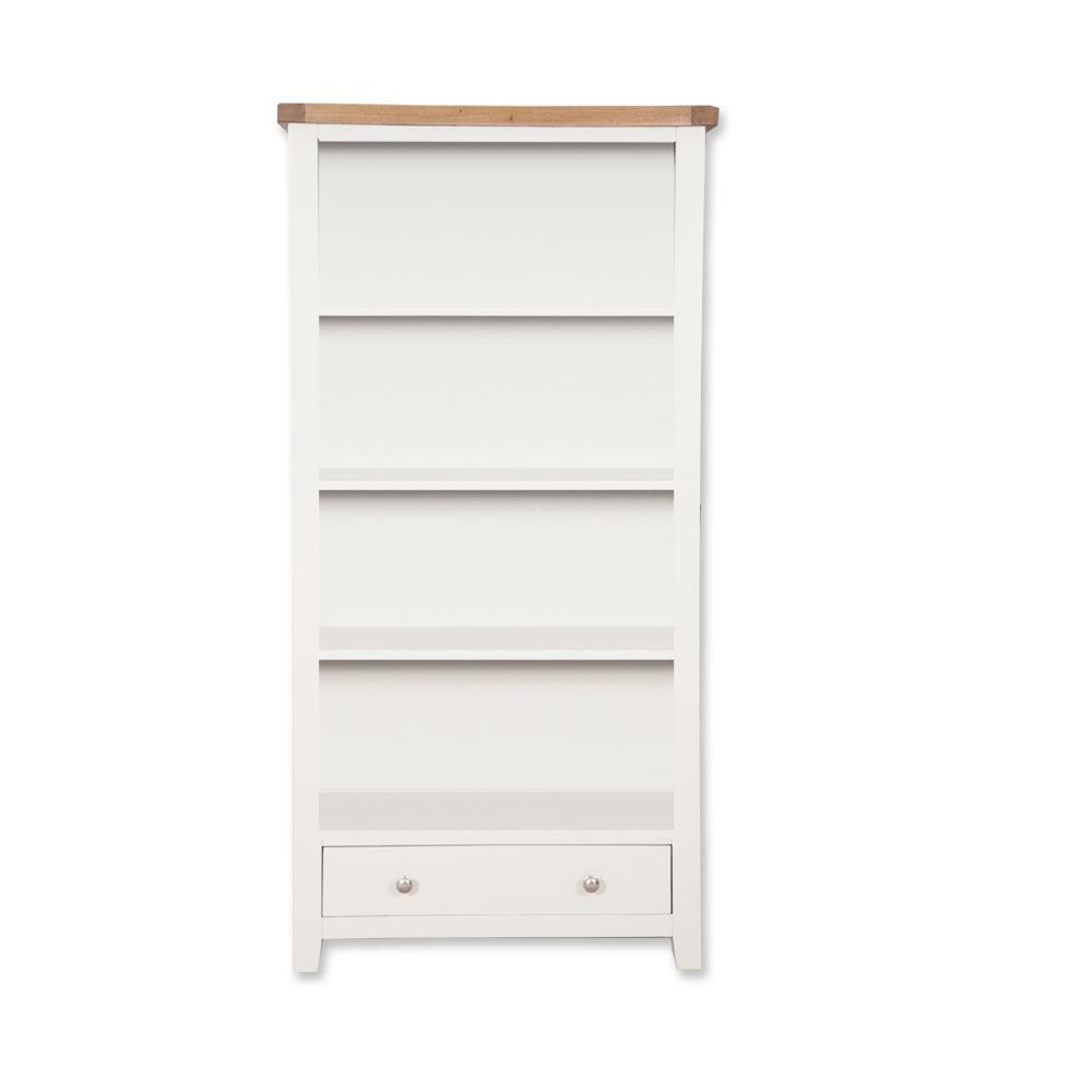 Melbourne White Large Bookcase