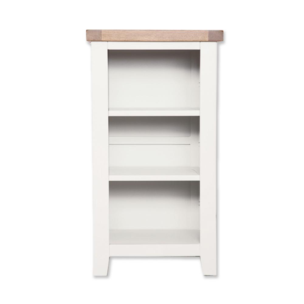 Melbourne White Small Bookcase