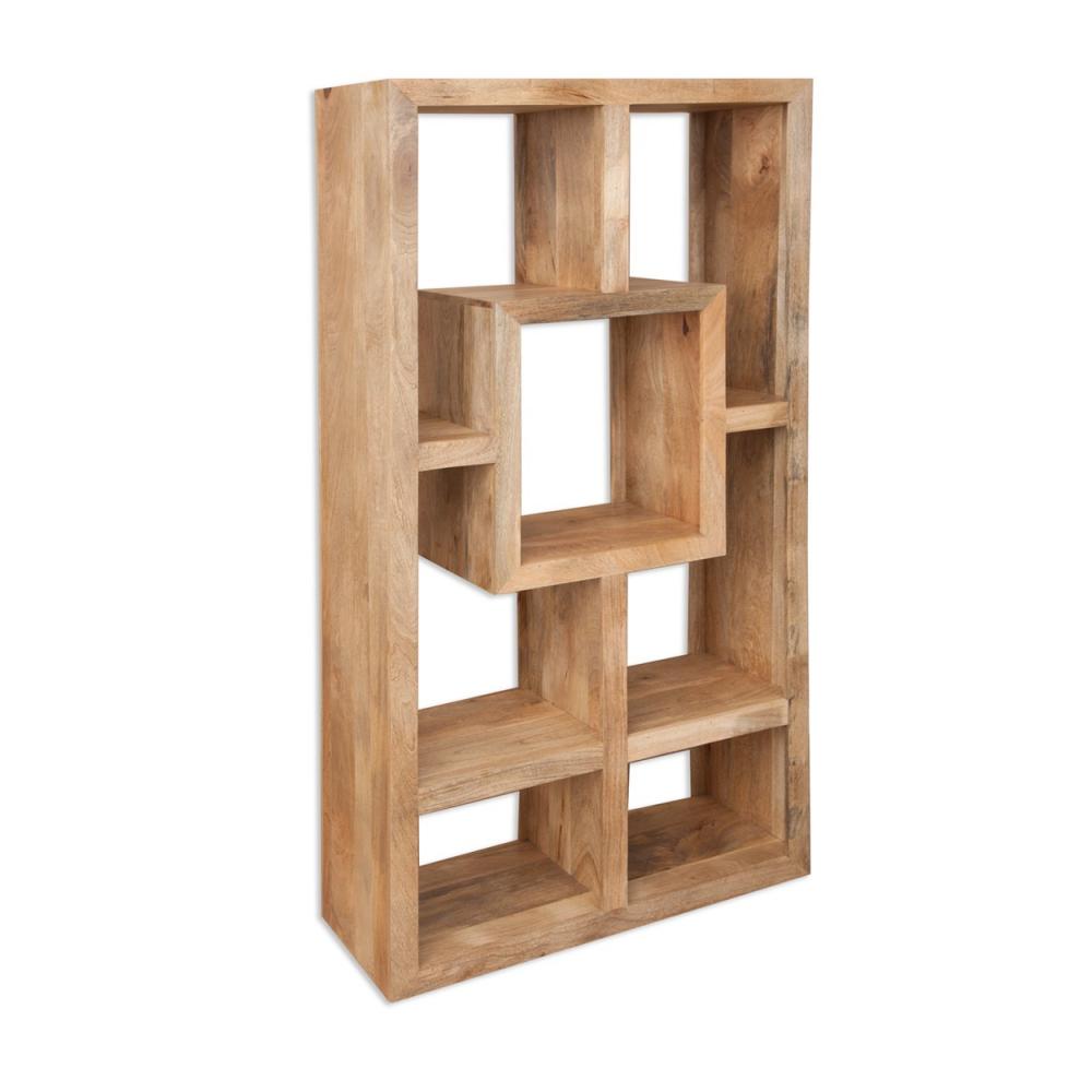 Cube Petite Mango Display Cabinet